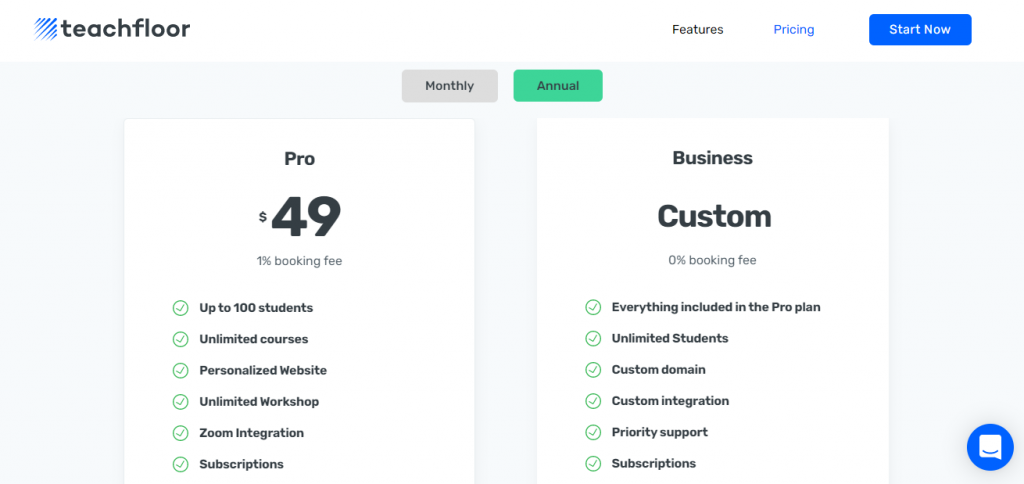 pricing for cohort-based courses