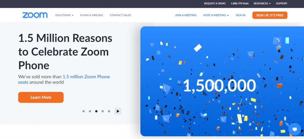 Online teaching tools: Zoom