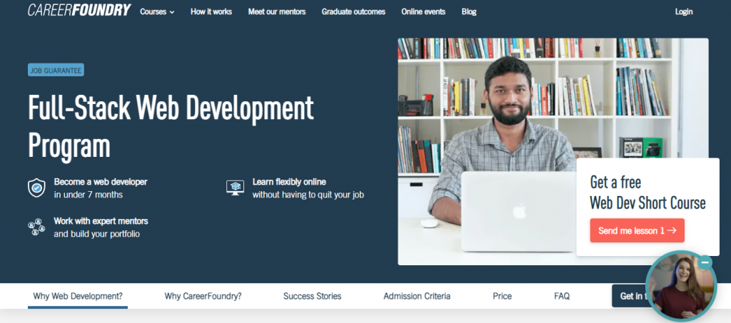 CareerFoundry: Best online coding bootcamps.