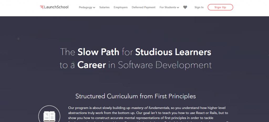 Best online coding bootcamps: Launch School