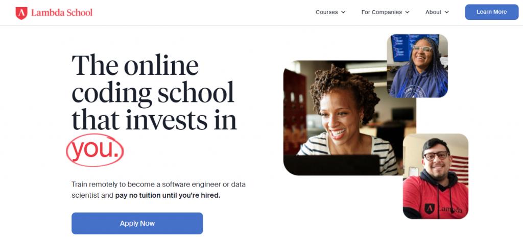 Best online coding bootcamps: Lambda School