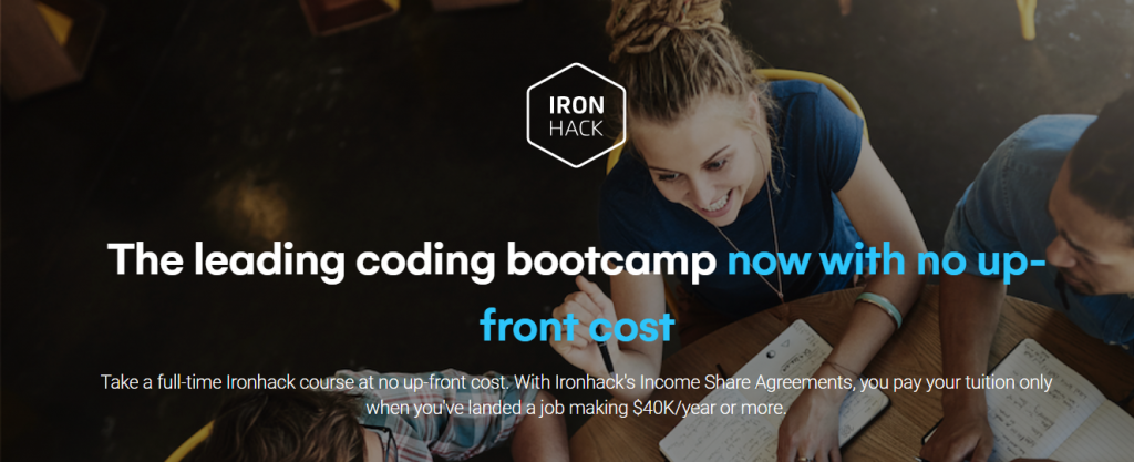 Best online coding Bootcamps: Iron Hack
